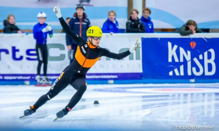 Niels Kingma groot talent in shorttracken
