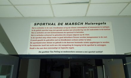 Begin sloop Sporthal de Marsch
