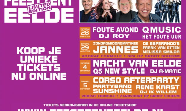 Feesttent Eelde – Limited edition
